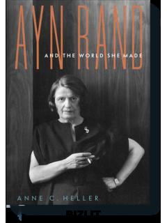Купить Айн Рэнд и миры, которые она создала
