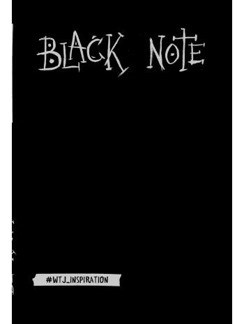 Black Note. Креативный блокнот с черными страницами (твердый переплет) книга купить
