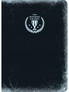 Блокнот Top Business Awards - линованный (черное серебро) книга купить