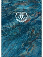 Блокнот Top Business Awards - линованный (синий мрамор)