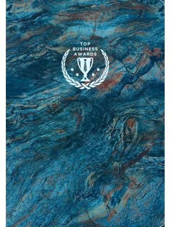 Блокнот Top Business Awards - линованный (синий мрамор) книга купить
