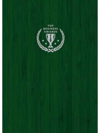Блокнот Top Business Awards - нелинованный (зеленое дерево) книга купить