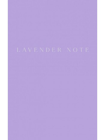 Lavender Note книга купить