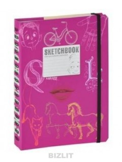 SketchBook [2] (малиновый переплет) книга купить