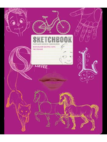 SketchBook [2] (малинова палітурка) книга купить