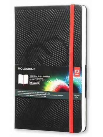 Блокнот Moleskine ADOBE для зарисовок средний черный книга купить