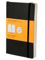 Блокнот Moleskine Classic маленький черный в линейку