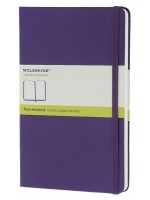 Блокнот Moleskine Classic маленький фиолетовый нелинованный