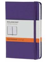 Блокнот Moleskine Classic маленький фиолетовый в линейку