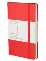 Блокнот Moleskine Classic маленький красный нелинованный