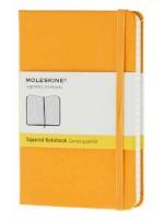 Блокнот Moleskine Classic маленький желтый в клетку