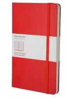 Блокнот Moleskine Classic средний красный в клетку
