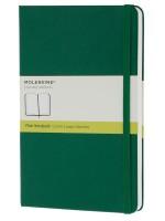 Блокнот Moleskine Classic средний зеленый нелинованный