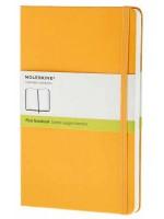 Блокнот Moleskine Classic средний желтый нелинованный