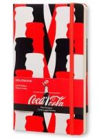 Блокнот Moleskine Coca-Cola средний красный нелинованный