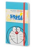 Блокнот Moleskine Doraemon средний голубой