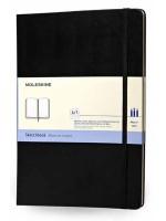 Блокнот Moleskine Folio A4 черный нелинованный