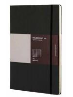 Блокнот Moleskine Folio A4 черный с алфавитом