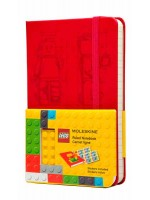 Блокнот Moleskine Lego-14 маленький красный