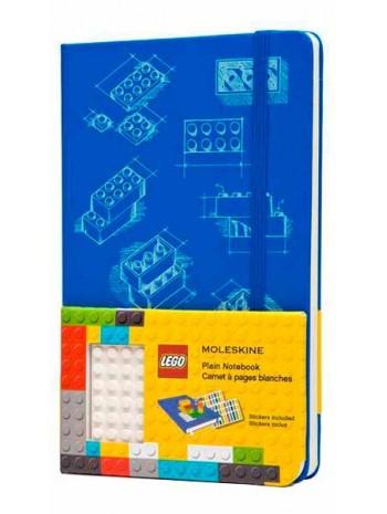 Блокнот Moleskine Lego-14 средний голубой книга купить