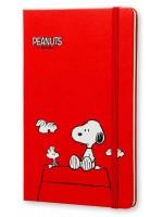 Блокнот Moleskine Peanuts средний красный
