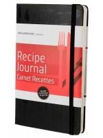 Записная книжка Moleskine Recipe Journal средняя черная