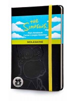 Блокнот Moleskine Simpson маленький черный