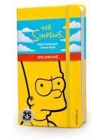 Блокнот Moleskine Simpson маленький желтый