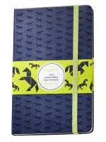 Блокнот Moleskine ST Horse средний темно-синий